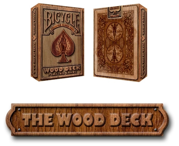 【USPCC撲克】Bicycle WOOD Playing Cards