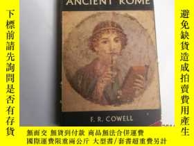 二手書博民逛書店Everyday罕見Life in Ancient Rome(古