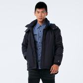 BigTrain 充孔配色防風潑水外套-男-深藍-B3022856