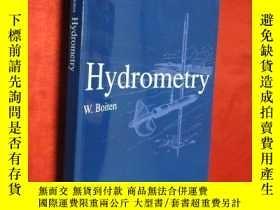 二手書博民逛書店Hydrometry:罕見IHE Delft Lecture N