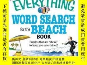 二手書博民逛書店The罕見Everything Word Search for the Beach BookY410016 C