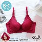 邂逅妮蒂亞蕾絲集中軟鋼圈內衣 B-C罩34-40 (紅色) - 伊黛爾