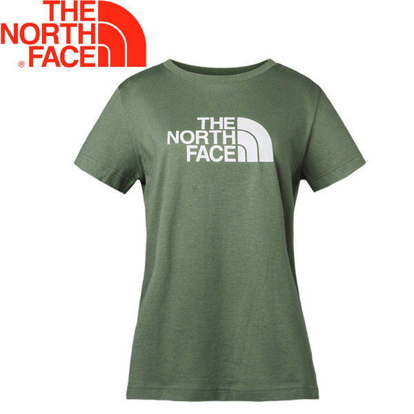【The North Face 女排汗短T 《綠》】3CJ2/排汗衣/短袖★滿額送