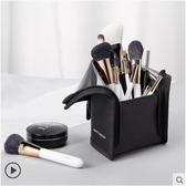 化妝包HAPPY MAKEUP旅行立式化妝刷包品筆收納包大容量可愛女便捷袋小號名創家居館