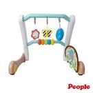 日本People 折疊式簡易健力架&學步車組合TB150〔衛立兒生活館〕