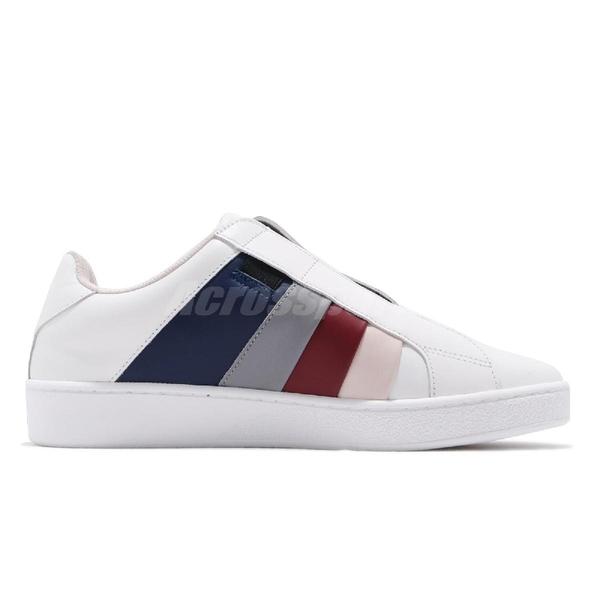 Royal Elastics 休閒鞋 Prince Albert 白 彩色 男鞋 無鞋帶設計 【PUMP306】 01493015