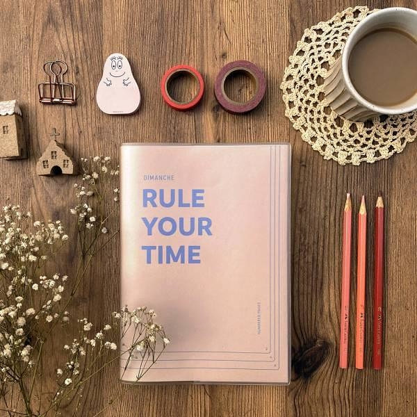 Rule Your Time 頁碼筆記本 v.3 [奶茶]【Dimanche迪夢奇】