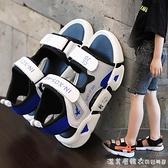 男童涼鞋女童2020新款夏季中大童男孩軟底防滑小童寶寶鞋子兒童鞋 【美眉新品】
