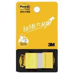 3M  681N-5  黃色指示標籤(單抽)  / 包