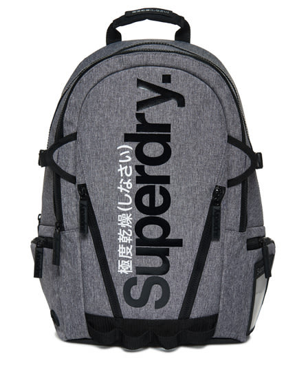 美國代購 Superdry 極度乾燥 Gel Tarp Backpack 砂石灰 後背包