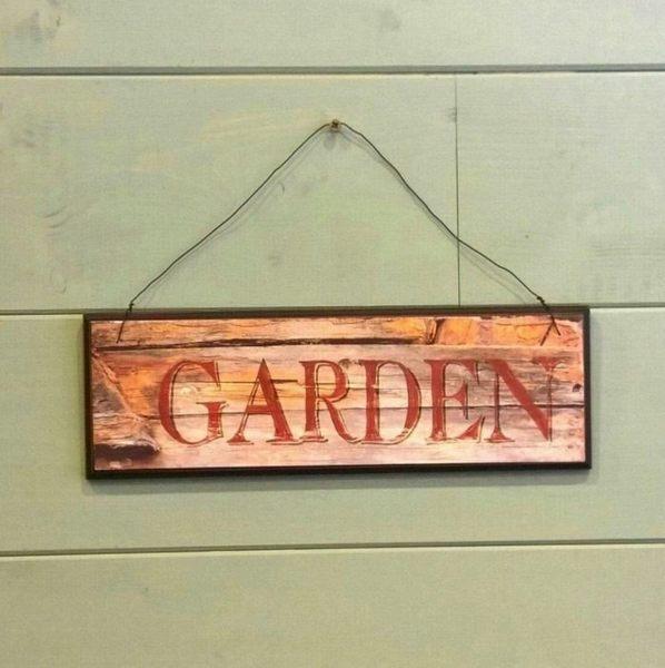 《齊洛瓦鄉村風雜貨》仿舊木製掛飾 吊牌 吊飾 裝飾 居家裝飾 園藝裝飾