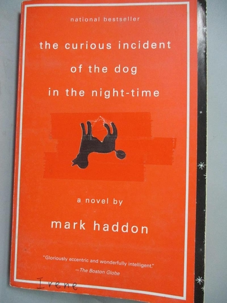 【書寶二手書T5/原文小說_IBK】Curious Incident of the Dog 深夜小狗神秘習題_MARK