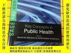 二手書博民逛書店Key罕見Concepts in Public Health(英