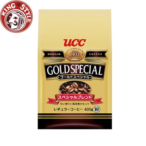 金時代書香咖啡 UCC 金質精選研磨咖啡粉(400g)