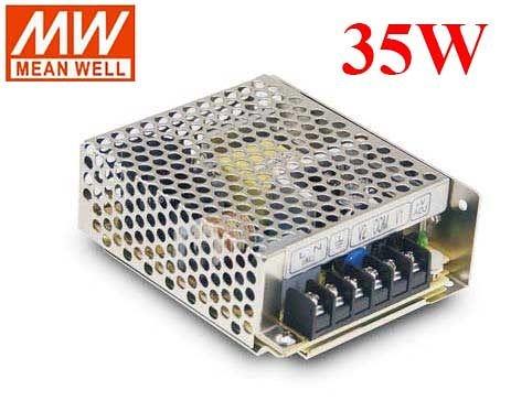 明緯MW 5V/4A 12V/1A 35W RD-35A 機殼型(Enclosed Type)交換式電源供應器