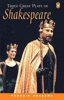 二手書博民逛書店 《Three Great Plays of Shakespeare》 R2Y ISBN:0582426863│Longman