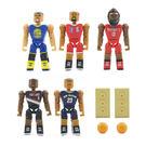 C3 Toys超可動積木人偶 NBA系列 明星球員 西區 (5入套組)