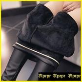 【YPRA】打底皮褲 加肥加大皮褲外穿高腰PU皮加絨打底褲