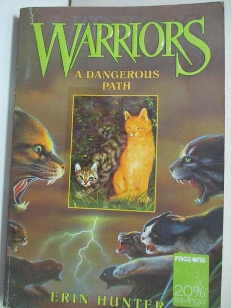 【書寶二手書T8/原文小說_GZ8】A Dangerous Path_Erin Hunter, Erin Hunter