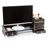 電腦架顯示器增高架台式支架護頸辦公室桌面屏墊高架子底座置物架YXS 韓小姐的衣櫥