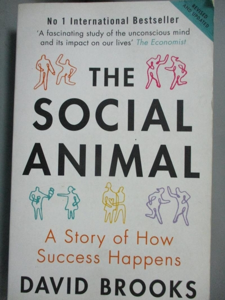 【書寶二手書T5/勵志_CSI】Social Animal: A Story of How Success Happens_David Brooks