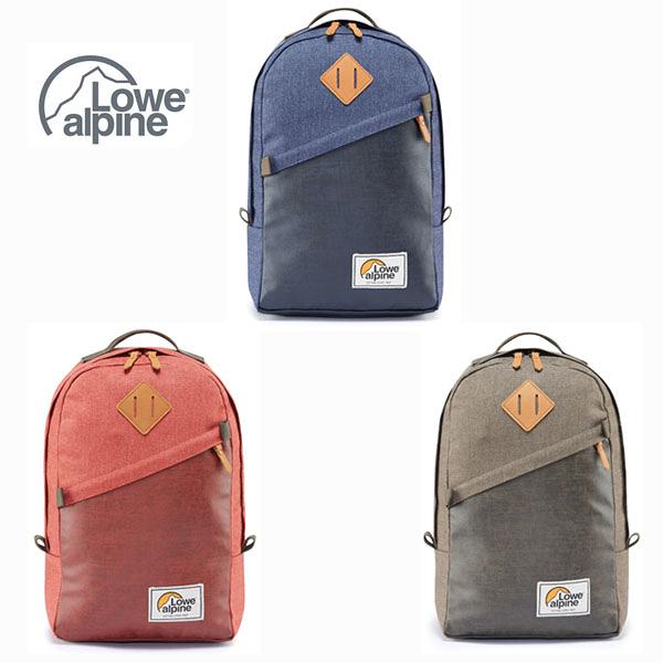 [Lowe alpine] 五十週年 經典紀念款 Adventurer 20 背包 - 棕石、墨西哥紅、暮藍 (FDP-61)