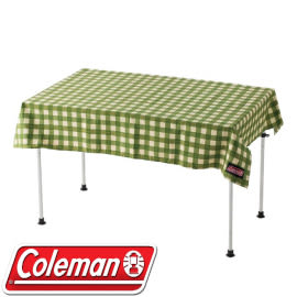 美國 Coleman 經典綠格紋桌布.桌巾.野餐布_CM-26879 綠