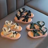 女童涼鞋2020夏季新款兒童時尚網紅爆款女孩小公主軟底防滑中大童 中秋節