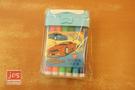 超跑 跑車 12色可水洗水彩筆 彩色筆 815512