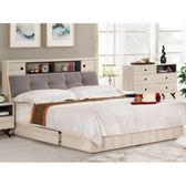 床架 MK-529-1 優娜6尺被櫥式雙人床 (床頭+床底)(不含床墊) 【大眾家居舘】