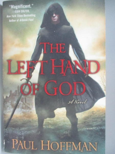 【書寶二手書T8/原文小說_DLD】The Left Hand of God_Hoffman, Paul