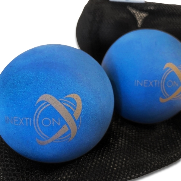 【INEXTION】Therapy Balls 筋膜按摩療癒球(2入) - 藍 台灣製