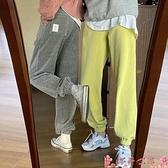 束腳褲燈芯絨褲子女秋冬直筒寬鬆運動束腳褲2021新款高腰顯瘦百搭休閒褲  芊墨左岸 上新