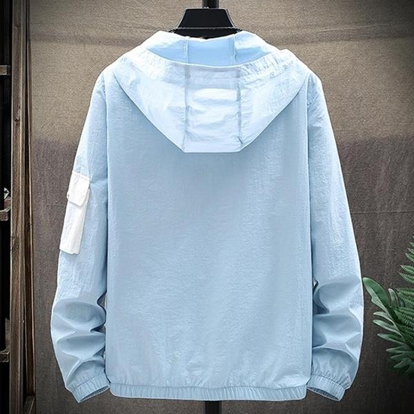 防曬衣 防曬衣男超薄透氣防紫外線外套輕薄款戶外衫釣魚服夏季皮膚風衣N 交換禮物