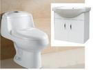 【麗室衛浴】殺很大 龍天下 超超值衛浴2件組合商品 馬桶+盆櫃+面盆龍頭
