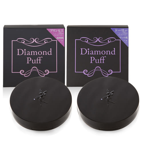 Diamond puff 鑽石礦物漂浮蜜粉餅9g(兩款)【UR8D】