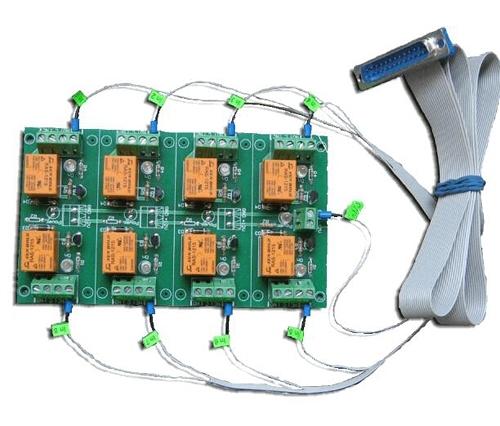 [2美國直購] denkovi 繼電器板 LPT 8 Relay Board controlled Printer parallel DAE-RB/Ro8/12V