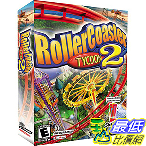 [106美國直購] 2017美國暢銷軟體 RollerCoaster Tycoon 2 - PC