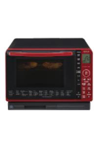 《日立 HITACHI》22L 過熱水蒸氣烘烤微波爐 MRO-VS700T (R)晶鑽紅