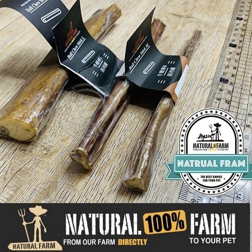 四個工作天出貨除了缺貨》紐西蘭Natural Farm自然牧場【天然牛腱棒】 寵物零食犬用零食M號