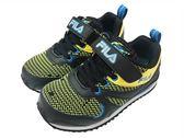 『雙惠鞋櫃』★ FILA ★黑 康特杯 網布透氣 另有桃、藍色可選 慢跑運動休閒鞋 ★ (2-J828R-093) 黑黃