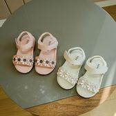 618好康鉅惠 幼兒涼鞋女寶寶夏季0-3歲防滑軟底女童學步鞋