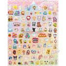 日本進口Sanrio明星人物貼紙組518199Kitty雙子星美樂蒂大耳狗【玩之內】