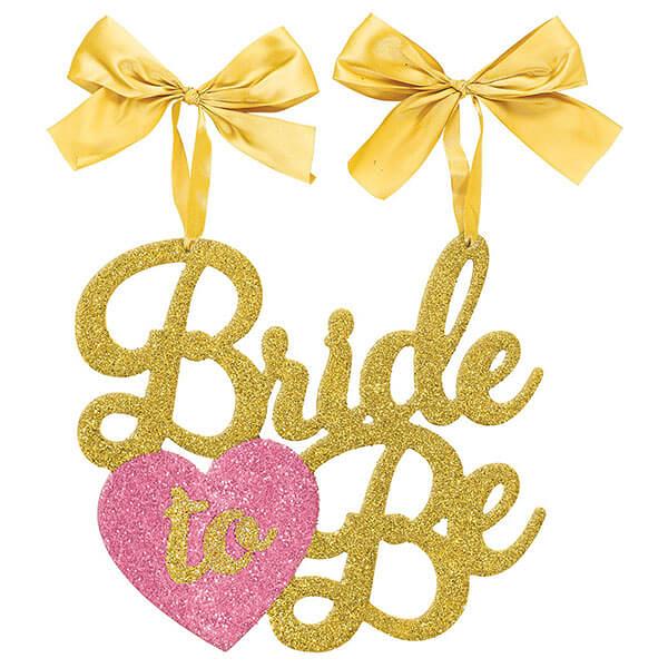 金蔥吊飾1入-Bride To Be