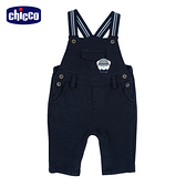chicco-英倫城市-配條吊帶長褲