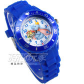Disney 迪士尼 小飛象 Dumbo 呆寶 大包 卡通手錶 兒童手錶 防水手錶 DT7301深藍