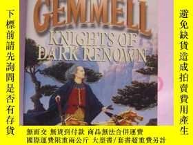 二手書博民逛書店knights罕見of Dark Renown 《著名的黑暗騎士
