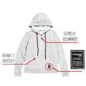 美津濃MIZUNO Slim Fit 合身版 女 針織休閒外套 D2TC723103(淺灰) 【 胖媛的店 】
