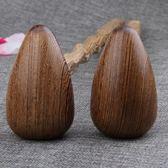 雞翅木按摩捶健身錘保健錘敲打錘子經絡錘紅木穴位錘按摩棒器實木HM HM