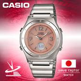 CASIO手錶專賣店 卡西歐 日本限定版電波時計 LWA-M141D-4AJF 女錶  雙顯 太陽能電力 節電功能